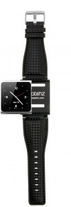 iWatchz carbon black watch band
