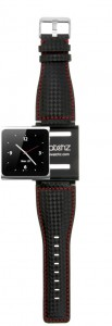iWatchz carbon black rad watch band