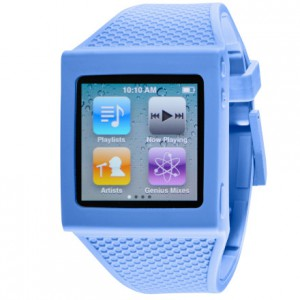hex blue sky silicone watch band