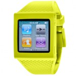 hex april green silicone watch band