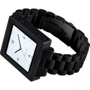 Hex black with polycarbonate watch band
